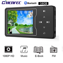 MP4 Player Bluetooth 4,2 mit Lautsprecher 16GB 2,4 Zoll HD Big Farbe Bildschirm HIFI Verlustfreie Sound Musik Player, unterstützung SD bis zu 128GB