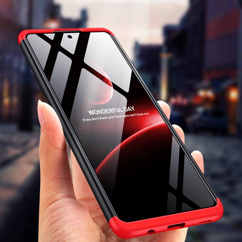 Funda de protección completa para Samsung Galaxy M31S, carcasa rígida mate para PC, carcasa trasera para Samsung Galaxy M31S Coques, 360