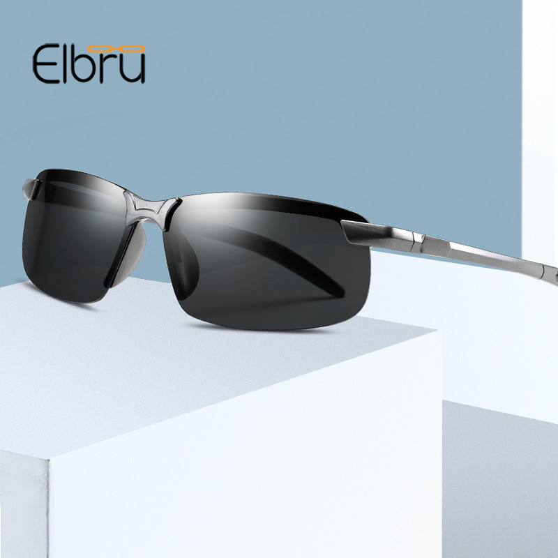 Elbru New Night Vision Driver Goggles Unisex HD Sun Glasses Car Driving Glasses UV Protection Sunglasses Eyewear