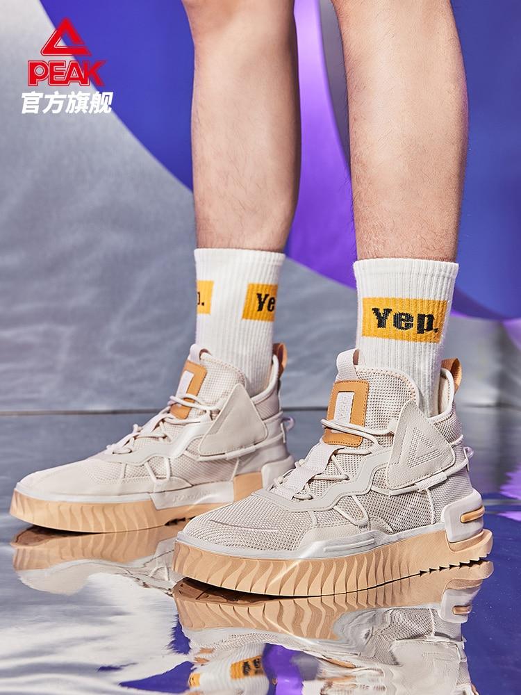 Пиковая состояние плеер с высоким берцем доска обувь для влюблённых с подсветкой 2021 Новый износостойкие культуру моды спортивная обувь для...