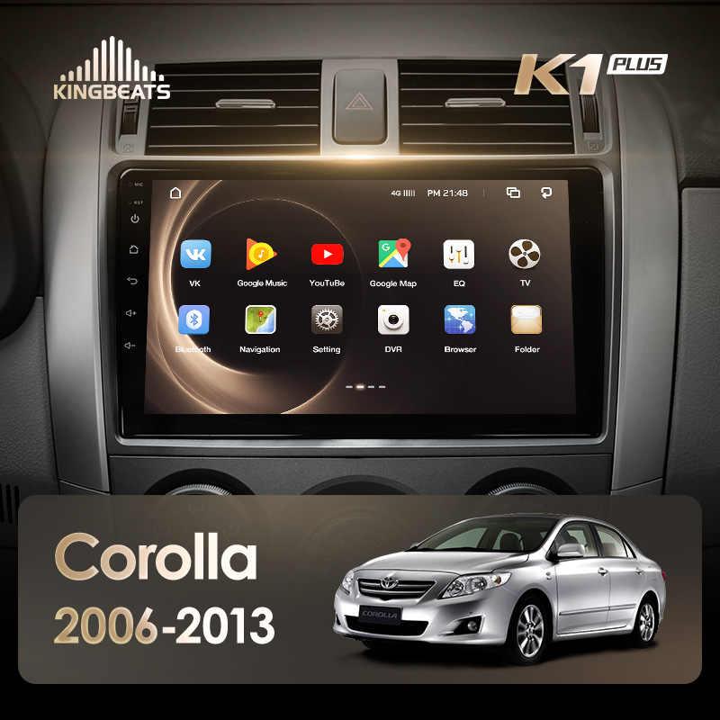 KingBeats Android 8.1 Octa-Core head unit 4G in Dash Car Radio Multimedia Video Player Navigation GPS For Toyota Corolla 10 E140