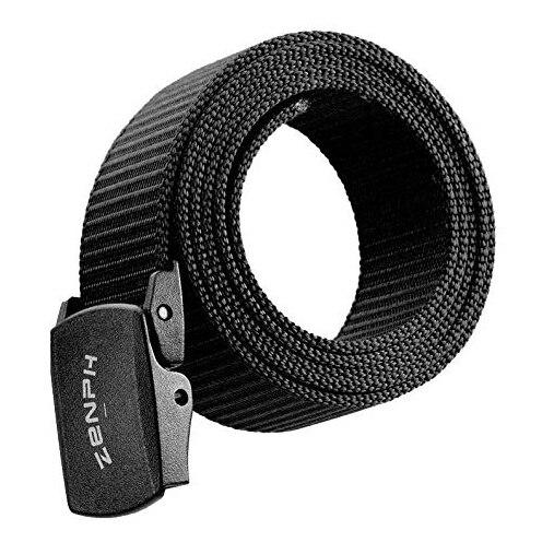 Zenph Nylon Tactical Belt YKK Plastic Buckle Men Outdoor Army Training Belts 125cm 3 Colors High Quality Buckle Belts