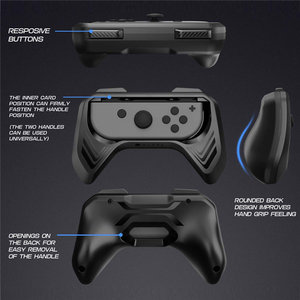 Image 5 - Mumba Grip for Nintendo Switch Joy Con, 2 Pack Switch Controller Grip Handle Kit for Nintendo Switch Joy Con (Black)