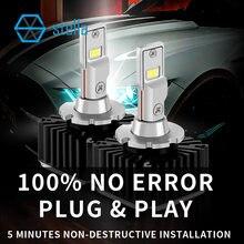 Stella d1s d2s d3s d4s d2r d5s d8s carro led farol canbus nenhum erro substituir hid lâmpada de automóvel para bmw para toyota para mercedes 90w
