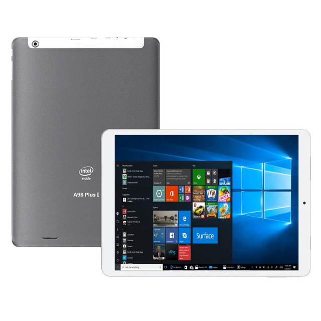 9.7 inch A98 Plus Windows 10 Tablet PC 4GB+64GB 1536 x 2048 IPS WIFI HDMI-compatible Bluetooth 64-bit operating system
