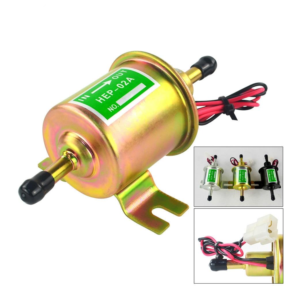 Fuel-Pump Diesel HEP-02A Petrol-Gasoline Motorcycle Universal Electric Low-Pressure High-Quality