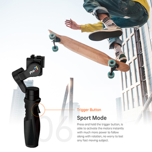 Image 5 - Hohem iSteady Pro 3 3 Axis el Gimbal DJI Osmo eylem kamera sabitleyici GoPro Hero 7/6/5/ Sony RX0 spor kamera