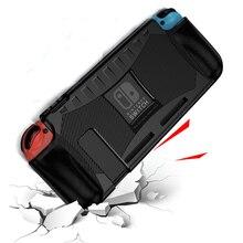 Silikonowa obudowa TPU na przełącznik Nintendo odporna na wstrząsy pokrywa ochronna Shell ergonomiczny uchwyt uchwyt na przełącznik do Nintendo NS akcesoria