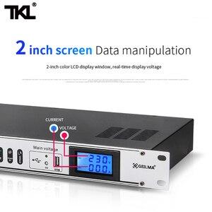 Image 2 - TKL D10 10 canaux séquence de puissance professionnel Audio contrôleur de commutateur dair barre de multiprise automatique protéger efficacement