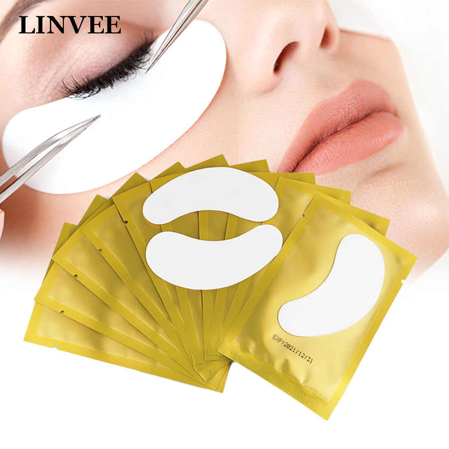 Valse Wimpers Extension Under Eye Pads Eye Gel Patches 10/20/50 Pairs Hydrogel Stickers Voor Enten Wimpers make Up Gereedschap