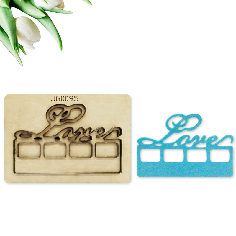 Customized Leather Metal Cutting Dies Handcraft DIY wooden mold dies cutting & Wooden Punching dies Lace Gift Box Frame 2019 New
