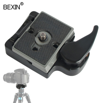Quick release camera clamp bexin 323 tripod quick plate adapter dslr mount 200pl for manfrotto DSLRS