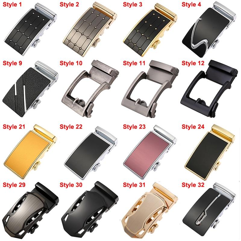 CETIRI Brand New Automatic Belt Buckles For Men Waistband Ratchet Belt Buckle Head Without No Belt Fit 3.5cm Leather Belt