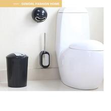Настенный вмонтированный ершик и держатель набор из нержавеющей стали туалетная щетка для уборки в Ванной Набор ершиков для туалета стальная щетка для чистки туалета