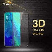 3D Tempered Glass For OPPO Reno 10X zoom Z Realme X Lite 3 Pro C2 Screen Protector for R19 R17 R15X A9 F11 A7 A1 film