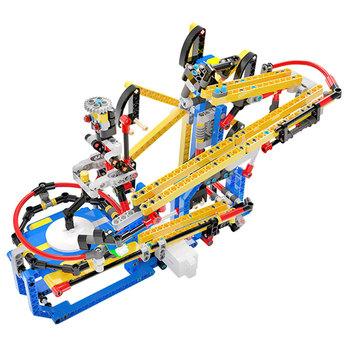 Nowe zabawki do biegania z marmuru ścieżka do piłki marmur do biegania utwór High Tech zabawki marmury utwór marmury Run Block Building DIY zabawki dla dzieci tanie i dobre opinie G0014 Fantasy i sci-fi Z tworzywa sztucznego 8 ~ 13 Lat 5-7 lat Dorośli 14Y Marble runs Building Blocks Marble Race Run Block