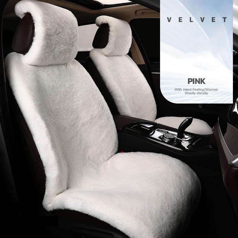 Плюшевый чехол на автомобильное сиденье для mitsubishi l200 carisma eclipse cross pajero 4 sport montero galant lancer outlander 3 xl, аксессуары