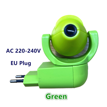 Star Moon Animal Projector LED Projector 6 Images Sensor  EU Plug Night Light Lamp For Kids Children Baby Bedroom Decoration - Green