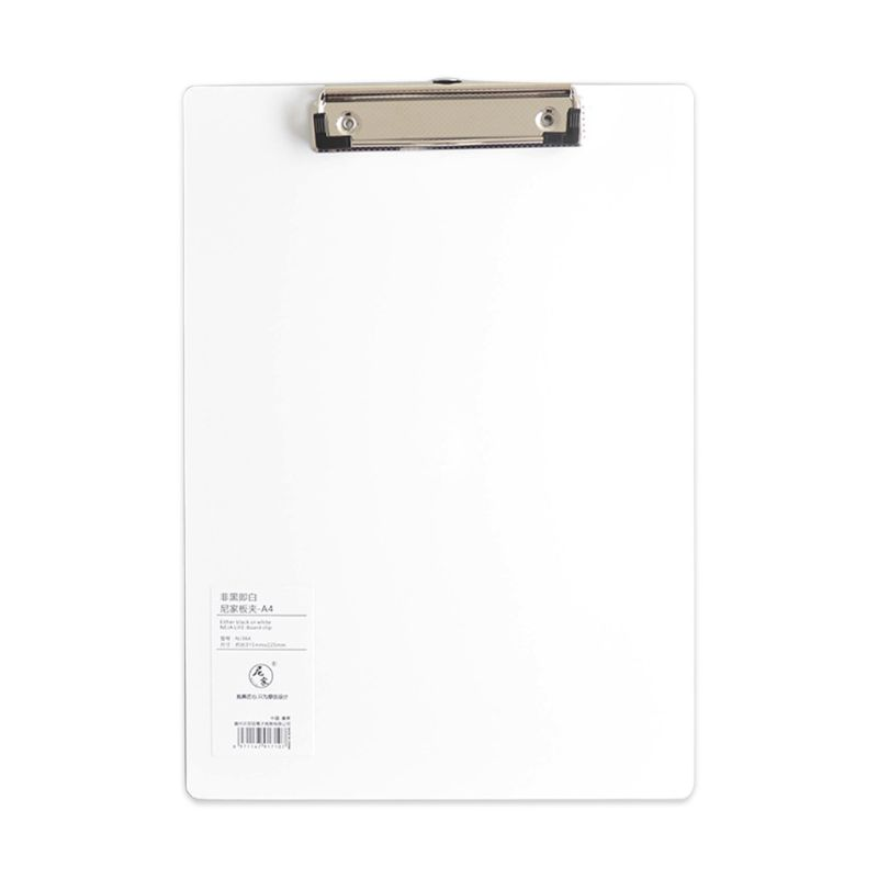 2021 New Simple A4 A5 Notepad Memo Pad Board Clip Loose-leaf Notebook File Writing Clamps