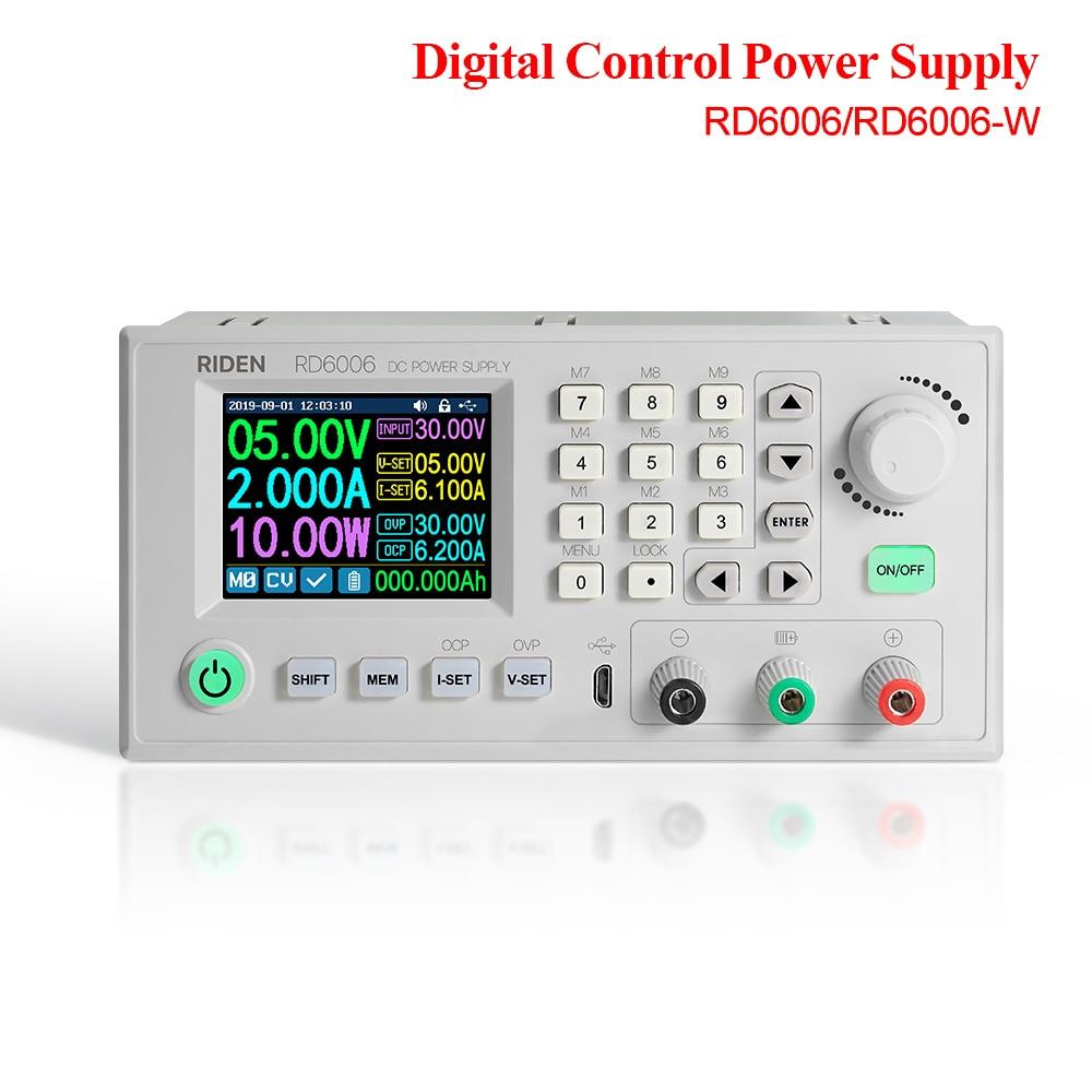 RD RD6006 RD6006W convertisseur de courant de tension dc-dc voltmètre 60V 6A USB WiFi module dalimentation abaisseur buck Voltage 40% off