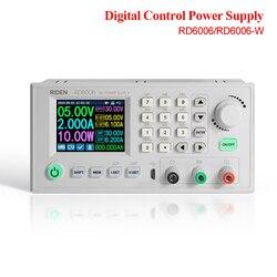 RD RD6006 RD6006W DC-DC voltaj akım dönüştürücü voltmetre 60V 6A USB WiFi adım aşağı güç kaynağı modülü buck voltaj 40% kapalı