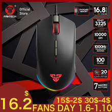 FANTECH X17 Gaming mouse 10000DPI Adjustable 7 But