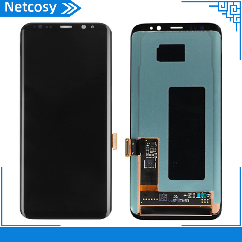 LCD For <font><b>Samsung</b></font> <font><b>Galaxy</b></font> <font><b>S8</b></font> <font><b>G950</b></font> G950U G950F <font><b>S8</b></font> Plus G955 G955F LCD Display Touch Screen Digitizer Assembly Replacement Parts image