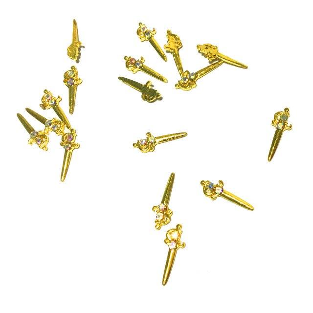 Ювелирные изделия и Стразы для ногтей подвески металлические
