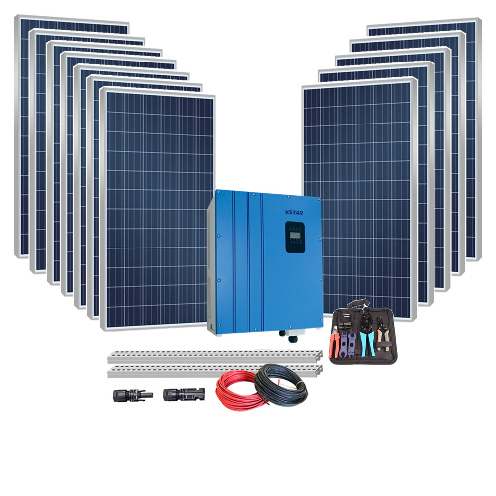 Punctual Polynet Best On Grid 10kw Solar Power System 10kv Home Sun Energy Systems