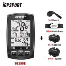 Cycling Computer Igpsport Igs50e Bluetooth-4.0 bike Digital Ant  Wireless Waterproof