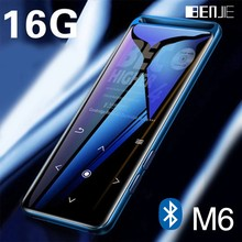 BENJIE M6 Bluetooth 5.0 lecteur MP3 sans perte 16GB HiFi Portable baladeur Audio avec Radio FM EBook enregistreur vocal MP3 musique Playe