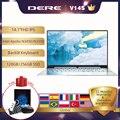 Dere V14S 14,1 inch дешевые Тетрадь 8GB 256GB ноутбук с клавиатурой с подсветкой и FHD 1920x1080 Windows 10 Intel Apollo 5G двухъядерный процессор Wi-Fi компьютера