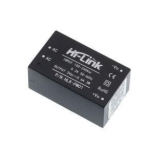 Image 3 - Livraison gratuite 10 pièces/lot HLK PM01 AC DC 220V à 5V mini module dalimentation intelligent commutateur domestique module dalimentation HLK