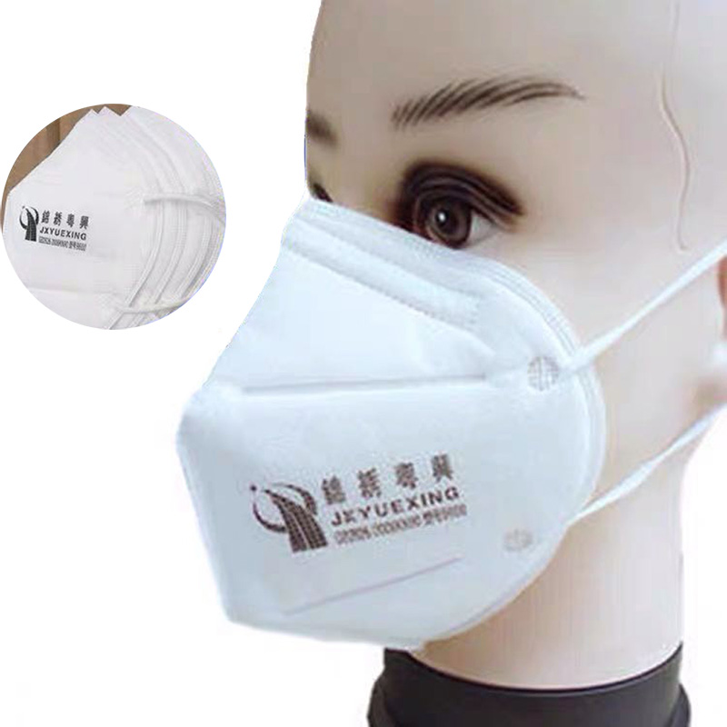In Stock KN90 Vertical Folding Valved Filter Mouth Mask Anti Fog Dust Reusable Masks PM2.5 Nonwoven With Valve Respirator Masks