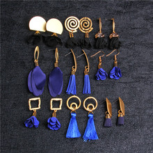 Bohemian Handmade Statement Tassel Drop Earrings For Women Vintage 2019 Jewelry Dangle Pendientes