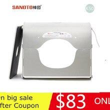 Портативная палатка sanoto для фотосъемки, небольшой складной светильник, софтбокс 50 см, светильник K50 CD50 T03P