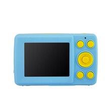 Милый детский прочный регистратор HD анти-встряхивание Дети Водонепроницаемый мини фото цифровая камера Анти-осеннее Обнаружение лица 2,4 дюймов экран
