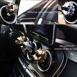 Image 3 - Bulldog Car Perfume Fragrance Scent Car Air Freshener Smell in the Car Styling Distributor Auto Vents Scent Car Accessories