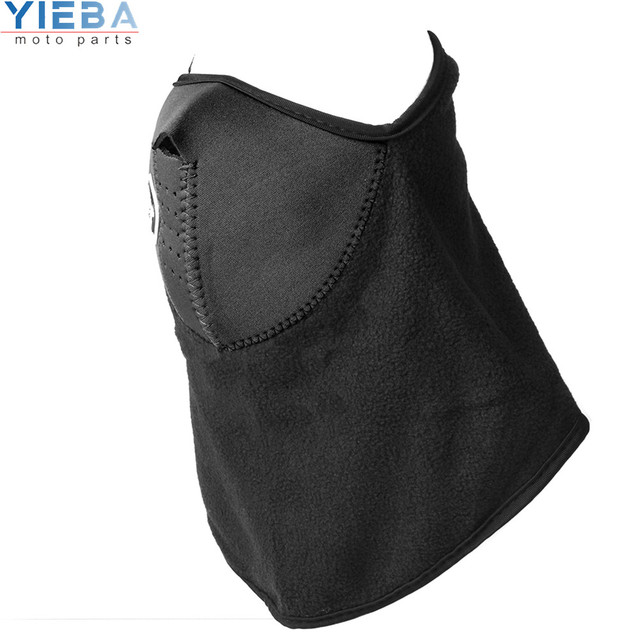 Full Face Motorcycle Face Shield winter Face Mask Ghost Mask 3D Skull Sport Mask Neck Warm Windproof Outdoor Motorbike Parts 3