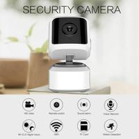 Mini monitor Camera Tester Smart WIFI Wireless Security IP Camera Pan Tilt HD 1080P Cloud Network IR Night Vision Monito