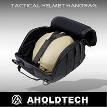 Aholdtech Genuine Tactical Helmet Storage Bag for Carrying Airsoft Bulletproof Ballistic Fast MICH Wendy Helmet