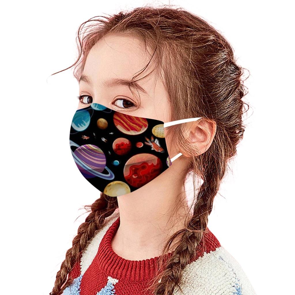 50 шт одноразовые детская маска пространство Высокое качество маска промышленный с наушным креплением гигиены утепленные уход за кожей лиц...