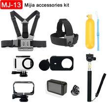 Para xiaomi mijia acessórios da câmera de ação kit selfie vara à prova dwaterproof água caso quadro caixa cinta no peito para mijia esporte câmera