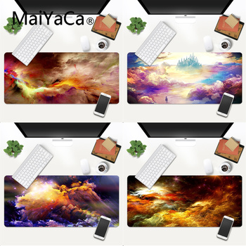 Your Own Mats Colorful Clouds Comfort Mouse Mat Gaming Mousepad Gaming Mouse Pad Large Deak Mat 700x300mm for overwatch/cs go