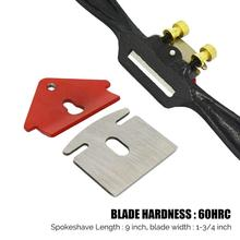 Edge-Chisel-Tool Hand-Tools Trimming Plane Spokeshave Woodworking Screw/Blade with 9-Adjustable