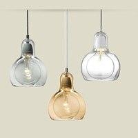 Morden Glanzende Glazen Lampenkap Hanglamp Kleurrijke Verlichting Bal Voor Woonkamer Keuken Gangpad Lamp Home Decor Opknoping Lichten