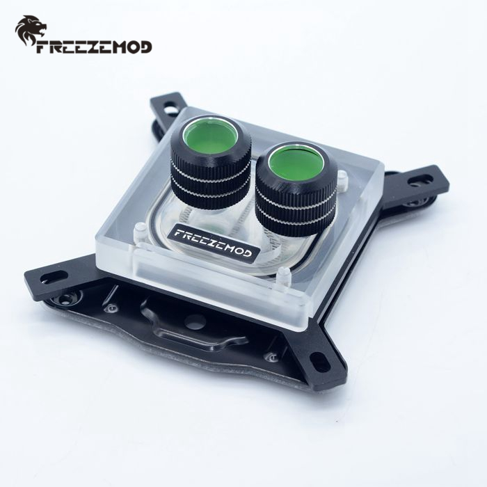 FREEZEMOD CPU Water Block For Intel 115X 2011 775  Full Platform. PC Cooling System Cooler 12V/5V AURA SYNC INTEL-PM3D