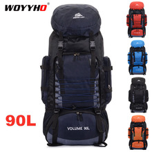 Travel Backpack Hiking Rucksack 90L Climbing Womentrekking Large-Capacity Outdoor Waterproof