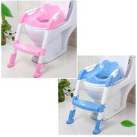 Children Kid Baby Large Size Toilet Training Safety Solid Environmental Friendly PP Material Seat Chair Step Adjustable Ladder