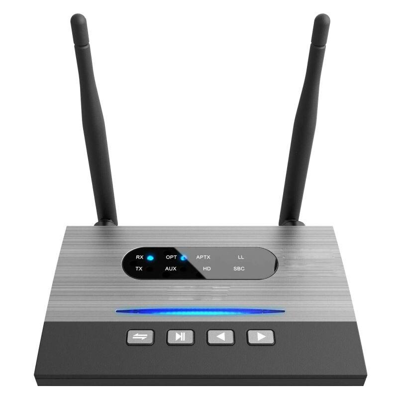 Récepteur et émetteur Bluetooth Aux Fiber optique adaptateur Bluetooth 5.0 adaptateur Audio musique 3-en-1